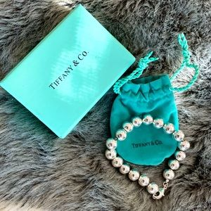 Tiffany & Co. Hardware Ball Bracelet (never worn)